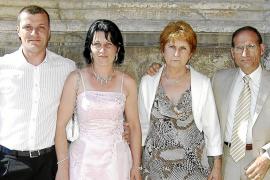 boda de Gonzalo Miranda y Natalia Galdós en Sant Francesc