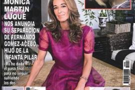 Nuria Fergó presenta a su hija en 'Hola'