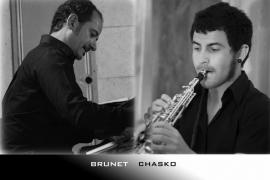 Dúo de Saxo y Piano con Brunet y Chasko