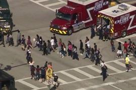 Al menos 17 muertos y 15 heridos en un tiroteo en un instituto en Florida (EEUU)