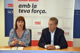 PALMA - RUEDA DE PRENSA DE FRANCINA ARMENGOL Y JAUME GARAU.