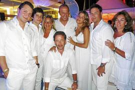 Cena de blanco de Anna de Codorniu en el Club Náutico de Palma