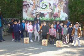 Alumnes d'Infantil del Ceip Es Pont de Palma, varen visitar Natura Parc