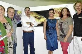 """Inauguración de la exposición """"Mirades"""", fotos subacuáticas de Guillermo Félix"""