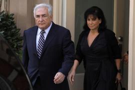 Strauss-Kahn y Anne Sinclair