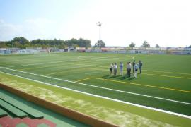 El campo municipal de Santa Eulària estrena nueva imagen