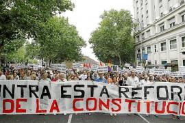 Artur Mas acusa a PSOE y PP de agrandar la brecha entre Catalunya y España