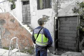 Se incrementa la presencia policial en sa Penya a raíz de las últimas ocupaciones