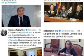 Puigdemont acusa a Rajoy de «sobrealimentar» el nacionalismo español