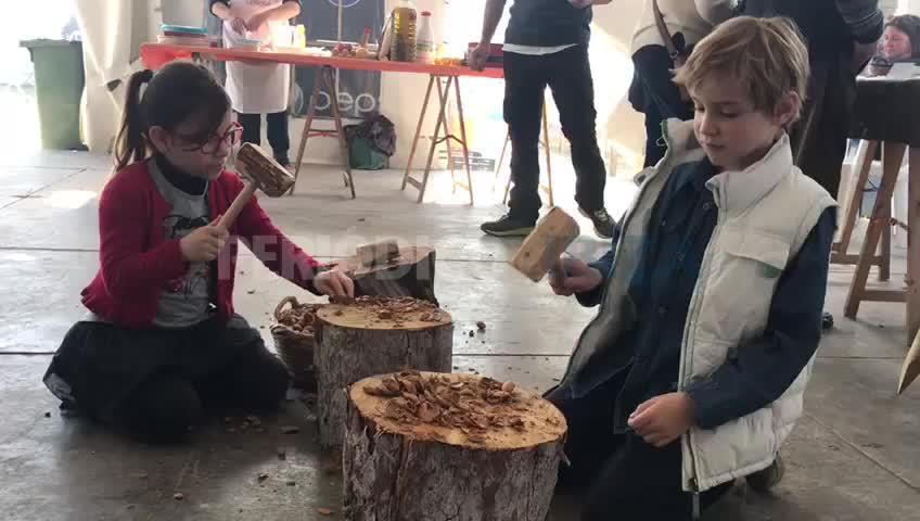 Santa Agnès pone en valor su producto estrella gracias a la fiesta de la almendra