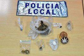 La Policía Local de Vila levanta once actas por posesión de drogas