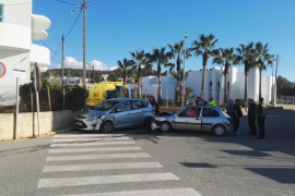 Accidente de tráfico en Can Bonet
