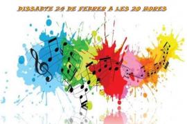 Concierto de la Banda de Música de Santa Eulària por Santa Cecilia