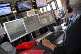 El 112 gestionó 117.457 incidentes de emergencias en Balears durante 2017, un 4% más