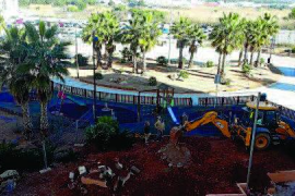 Ampliación del parque infantil de la plaza de es Pratet