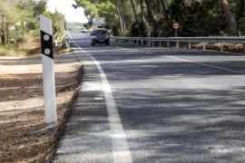 Santa Eulària reclama al Consell la cesión de la carretera que pasa por Sant Carles