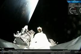 Lanzado con éxito al espacio el satélite PAZ, que permitirá a España obtener imágenes de toda la superficie terrestre