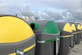 Sant Antoni empieza la sustitución de más de 650 contenedores de residuos