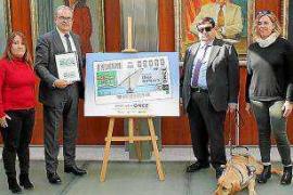 La ONCE dedica el cupón del 1 de marzo al Día de Balears
