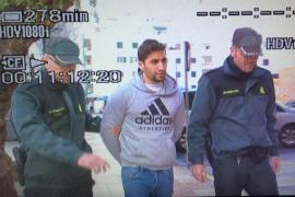 Pasa a disposición judicial el joven detenido con 30 kilos de hachís