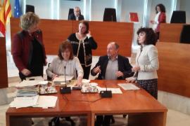 Pepa Marí presenta por sorpresa la adjudicación de Ca na Negreta y el pleno se suspende durante una hora