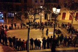 Movilizaciones en varios municipios de Mallorca en defensa de Valtonyc