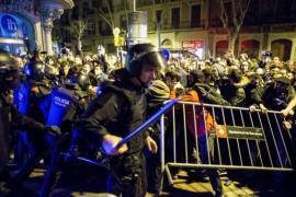 Un detenido por presunta agresión a los Mossos en las protestas de Barcelona