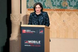 Colau reivindica la Barcelona defensora de derechos humanos y la libertad de expresión