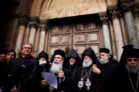 Cerrada indefinidamente la iglesia del Santo Sepulcro de Jerusalén en protesta contra Israel