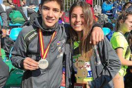 Oro para Andrea Romero, en sub 20, y plata para Llorenç Vidal, en sub 16