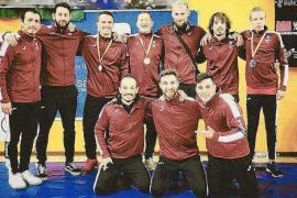 Cuatro medallas para el Ibiza MMA Team en Valencia