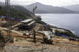 Sant Joan paraliza parte de las obras del nuevo hotel de cala Xarraca por no ajustarse a las licencias municipales