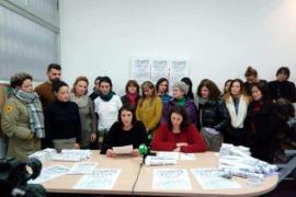 Asociaciones feministas y 20 colectivos hacen un llamamiento para secundar la huelga del 8-M en las Pitiusas