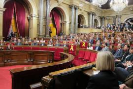 El Parlament reivindicará el 1-O pero no la DUI