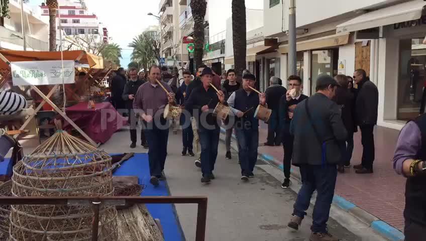 La Feria del Gerret ha vuelto a las calles de Santa Eulària
