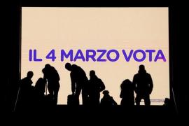 Italia vota este domingo en unos comicios de resultado incierto