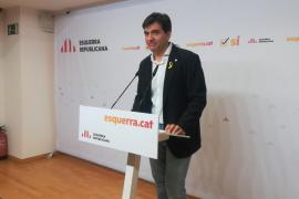 """ERC afirma que apoyará la candidatura de Jordi Sànchez si hay un """"acuerdo a tres"""""""
