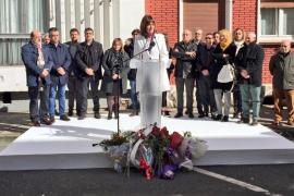 EH Bildu asisten por primera vez al homenaje a Isaías Carrasco, asesinado por ETA hace 10 años
