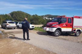 Rescatan a una mujer precipitada en es Cap Martinet
