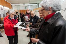 El Movimiento Pro Radioterapia exige la gratuidad del parquin de Can Misses