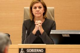 Cospedal dice que el Gobierno colaborará con la justicia para esclarecer el presunto espionaje de los Mossos