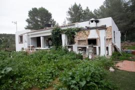 Ocupan una casa de campo en Forada por segunda vez en menos de un año