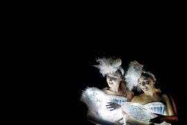 'Algodons', teatro para bebés en Formentera