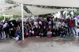 Sigue en directo la huelga feminista en Ibiza