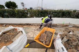 Comienzan las obras del puente de sa Llavanera en Ibiza