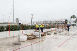 Las obras para construir un nuevo puente en sa Llavanera se alargarán cuatro meses