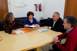 Prou exige la paralización inmediata de las obras del hotel de Xarraca