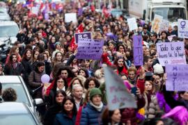 Los colectivos feministas califican la huelga del 8 de marzo de «éxito absoluto»