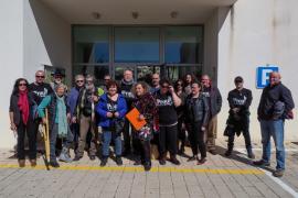 Prou pide paralizar las obras del hotel de Cala Xarraca (Fotos: Marcelo Sastre)