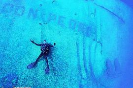 El éxito del 'Don Pedro' entre los buceadores, como ejemplo para crear un nuevo arrecife